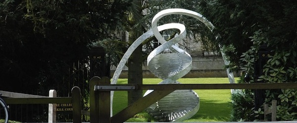 DNA sculpture copy