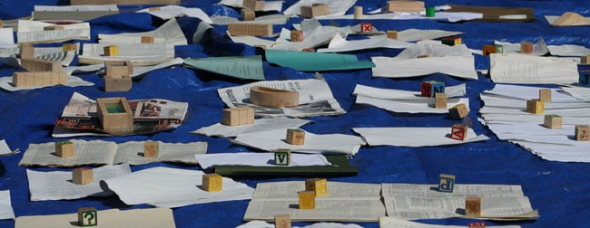 A-sea-of-papers